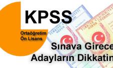 KPSS ortaöğretim önlisans