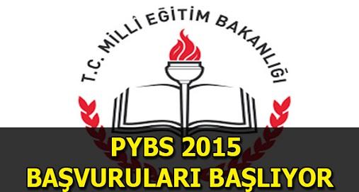 PYBS 2015 başvuruları