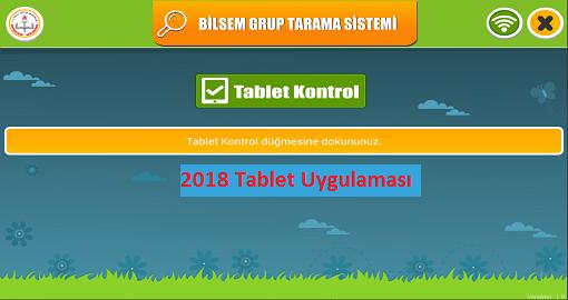 tablet uygulaması 2018