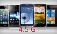 4.5 G telefonlar